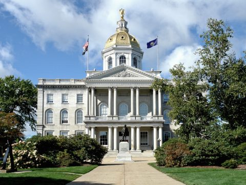 New Hampshire abolish the death penalty