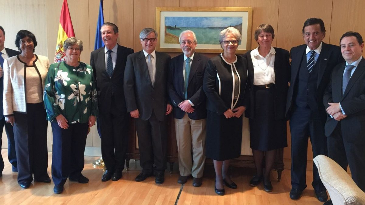 11th meeting of Commissioners in Madrid and a meeting in Paris