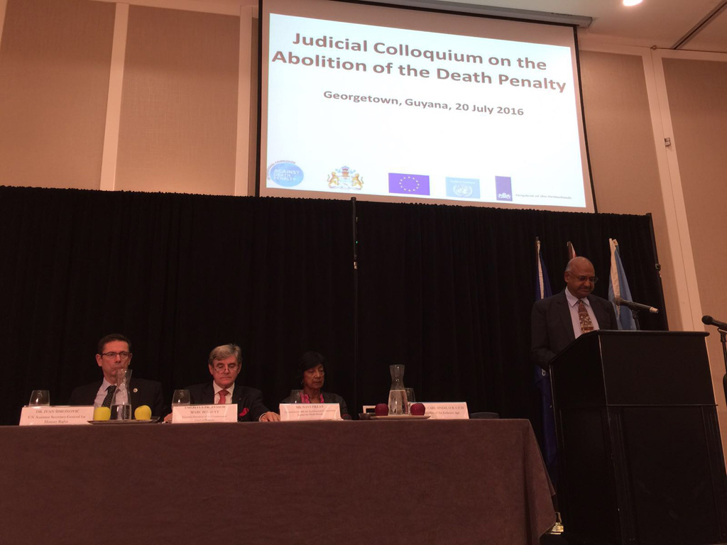 Guyana-Judicial-Colloquium-on-the-Abolition-of-the-Death-Penalty 1024