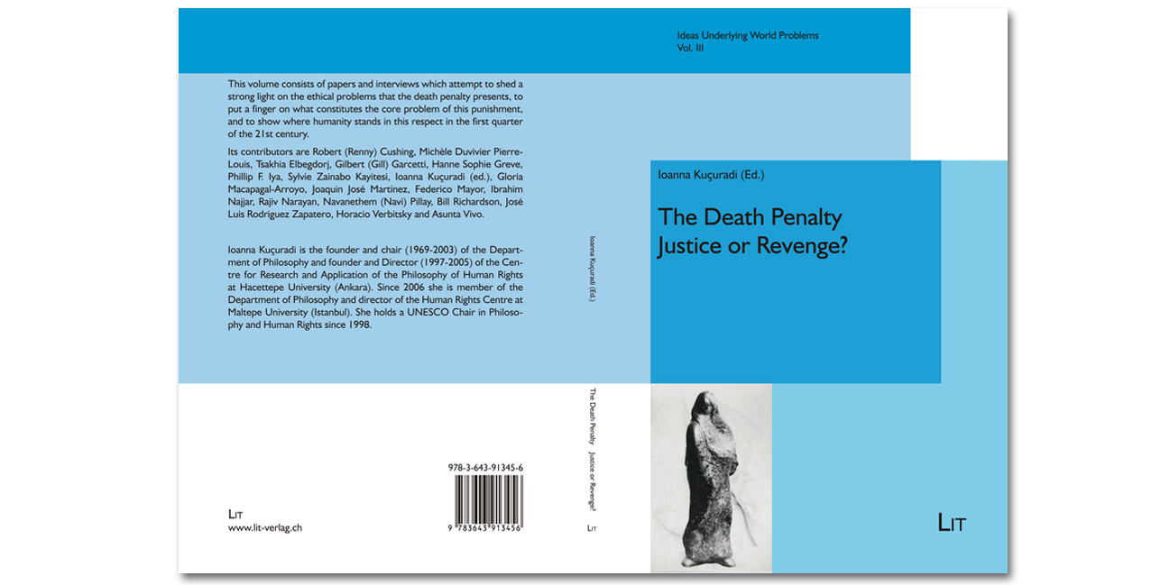 Book Kucuradi The Death Penalty Justice or Revenge