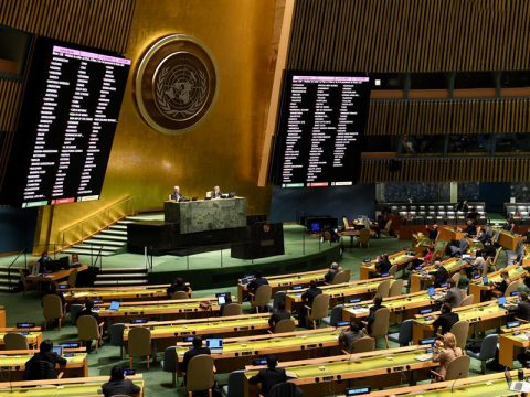 Vote at the UNGA Third Committee